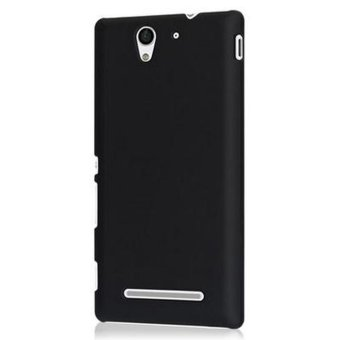 Harga Pc Back Cover for Sony Xperia C3 (Black)