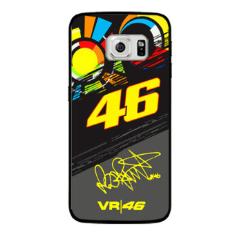 VALENTINO ROSSI VR46 Cover Case For Samsung Galaxy S3 S4 S5 Mini S6 S7 edge Note 2 3 4 J5 J7 2016 - intl