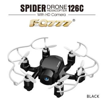 Harga Spider Drone Mini FQ777 126C 2.4G 3D 6-Axis Gyro Roll One Key Return Dual Mode 4CH with HD Camera