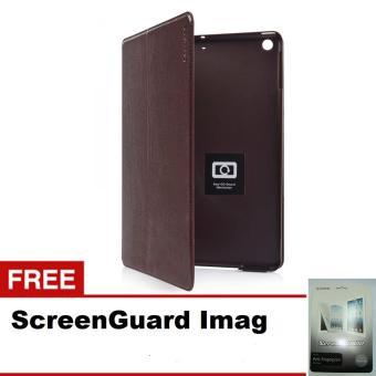 Capdase Folder Case Tablet for Apple iPad Air Real Leathery - Brown + Gratis ScreenGuard Imag