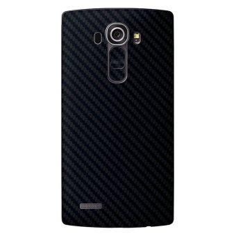 9Skin Premium Skin Protector untuk LG G4 - Carbon Texture - Hitam
