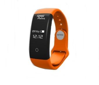 Harga Intex FitRist Pulzz Smart Band - Orange