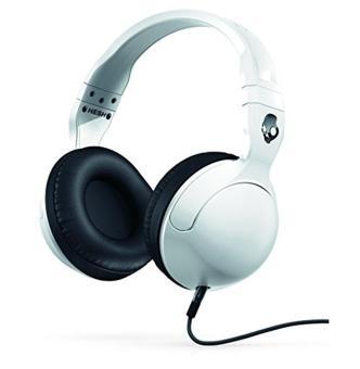 Skullcandy Hesh 2 Over-Ear Headphones with Mic, White - intl