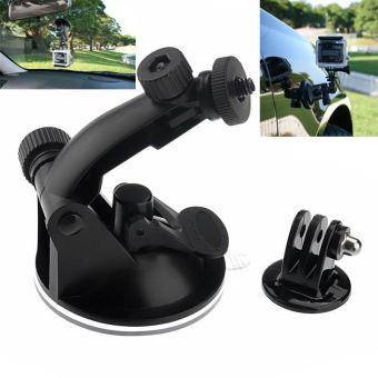 Harga Suction Cup Mount Windshield with Tripod Adapter for GoPro HD Hero 3+ 3 2 Hero3