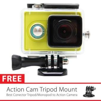Harga KingMa Original Waterproof Case for Xiaomi Yi Action Camera - Hitam