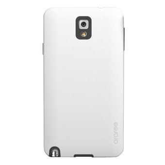Harga Araree Samsung Galaxy Note 3 Stealth Back Side Bumper Design Cover Case - Putih-Hitam
