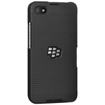 Harga KingMas Case Belt Clip Kickstand Holster BlackBerry Z30 (Black)