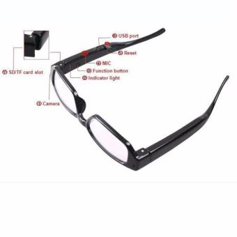 Harga Spycam Kacamata 720P HD High Resolution / Spy Camera Glasses Camera