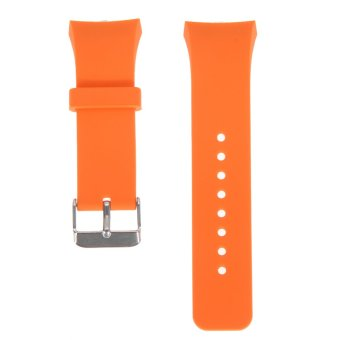 Harga Silicone Watch Band For Samsung Galaxy Gear S2 (Orange)