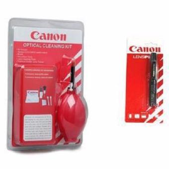 Harga Canon Cleaning Kit System Set 7 In 1 + Lenspen Canon For Digital Camera Lens High Quality - 1 Set Paket Alat Pembersih Lensa & Kamera