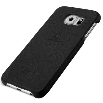 Harga Lenuo Original Cases Elegant PU Leather PC Back Cover Protective for Samsung Galaxy S6/G920(Black) - Int'l