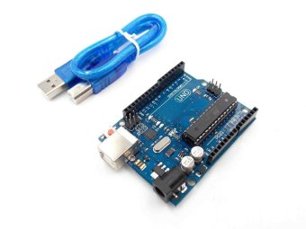 Harga popeye UNO R3 for Arduino Compatible MEGA328P ATMEGA16U2 Compatible with usb cable - intl