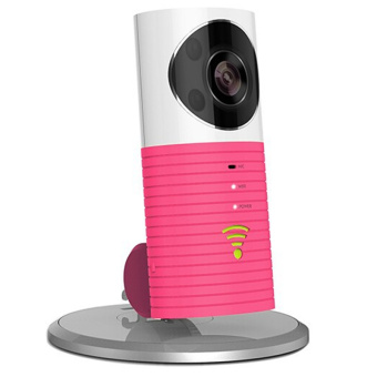 Harga Dog-1W 720P Smart IP Camera Clever Dog WiFi Baby/Pet Monitor Infrared Night Vision (Pink)