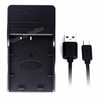 Harga LP-E17 Ultra Slim USB Charger for Canon Eos 750D Eos 760D Eos M3 Camera - intl