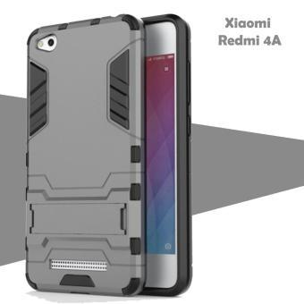 Case Iron Man for Xiaomi Redmi 4A Robot Transformer Ironman Limited Grey .