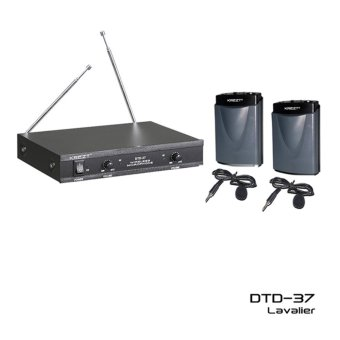 Harga Krezt Microphone Wireless DTD 37 LL (Mic / Mik Jepit / Clip On / Mic Imam)