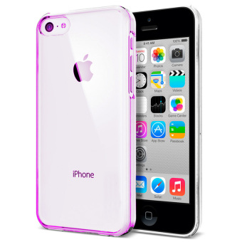 Harga Softcase Ultrathin Untuk Iphone 5 / 5S / SE - Pink Clear