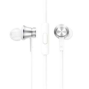 Asli Xiaomi headphone stereo headphone edisi seher standar di telinga headset dengan mikrofon .