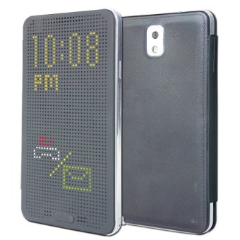 Harga Dot View Case for Samsung Galaxy Note 3 - Hitam
