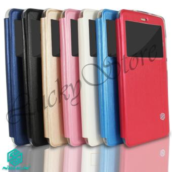Ume Himax M1 Leather Case Sarung Flipshell Flip Cover Himax M1 Source · Lucky Flip Case
