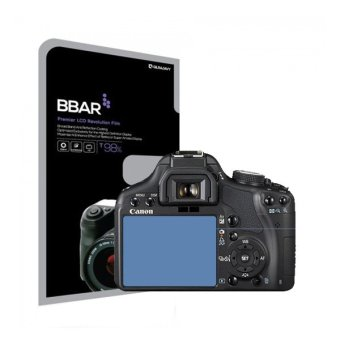 Harga BBAR CANON EOS 500D HD Clear camera screen protector 2 pcs Hi-definition anti-reflection clean