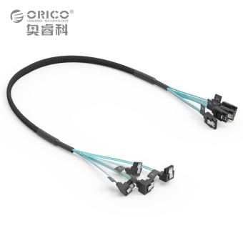 Harga Orico Sata 3.0 Data Cable 4 Line - CPD-7P6G-BW904S