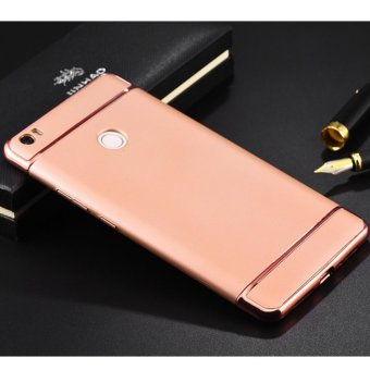 Harga 3 in 1 PC Protective Back Cover Case For Xiaomi Redmi 3s (Rose Gold) - intl