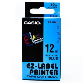 Harga Casio EZ- Label Tape XR-12BU1 - Biru