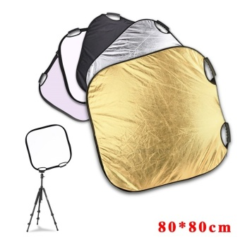 Harga Lands 80x80cm 5 in1 Light Mulit Collapsible Portable Photo Reflector