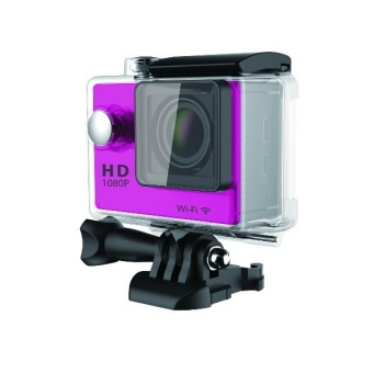 Harga Sport Cam Action Cam TiFo W9 1080P Full HD Sports DV Waterproof Wifi 2 inch Screen - Like SJ6000 Go Pro -Pink