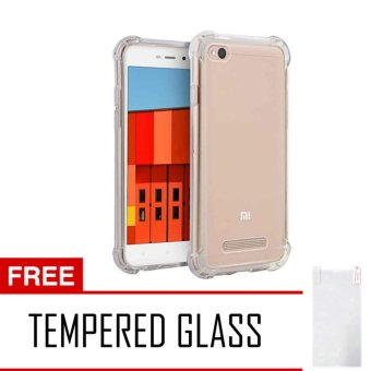 Harga Case AntiCrack / Anti Crack / Shock / Benturan Elegant Softcase for Xiaomi Xioami Xiomi Redmi 4A / 4 A + Gratis Free Tempered Glass