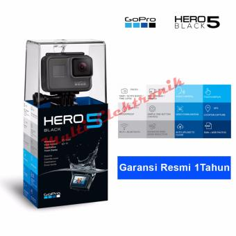 Harga GOPRO Hero 5 - ActionCamera 12MP - Hitam