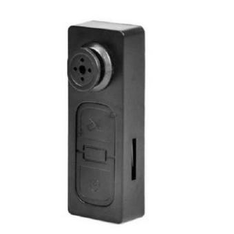 Harga Mini S918 Spy Button Shirt Camera -Hitam