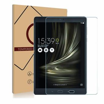 Harga for ASUS ZenPad 3S 10 Z500M 9.7 inch Tempered Glass Premium Screen Protector Guard 9H HD Anti Fingerprint and Scratch 99% Light Transmission Perfect Touch - intl
