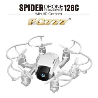 Harga Mini FQ777 126C Spider Drone 2.4G 3D 6-Axis Gyro Roll One Key Return Dual Mode 4CH with HD Camera