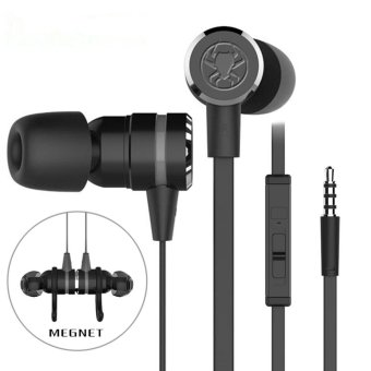 Harga PLEXTONE G20 Bass Stereo Sports In-Ear Wired Earphone w/ Mic - Black - intl