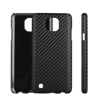 Harga Moonmini PU Leather Snap-On Back Case Cover For LG X Cam (Carbon Fiber)