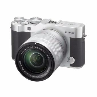 Harga Fujifilm X-A3 Kamera Mirrorless with 16-50mm Lens Kamera Mirrorless - Silver