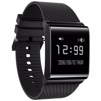 4connect X9 Plus Blood Pressure & Oxygen with Heart Rate Monitor with Activity tracker Smartwatch- Black