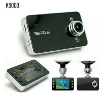 Harga Kamera Mobil K6000 Full Hd 1080p/ Car Dvr Camera Recorder