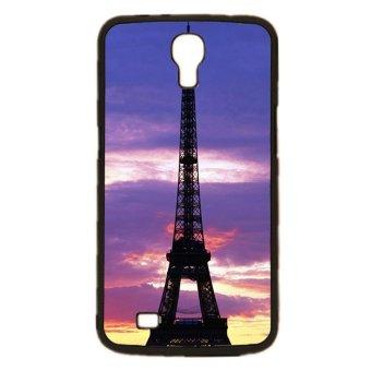 Eiffel Tower Pattern Phone Case for Samsung Galaxy Mega 6.3 i9200 (Black)