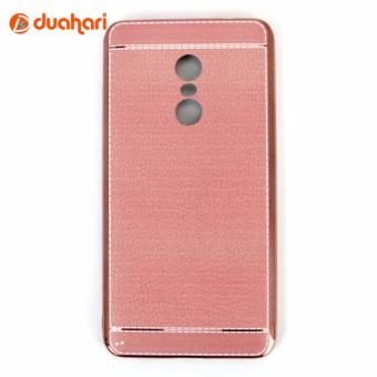 Harga Casing Xiaomi Redmi Note 4 Leather chrome