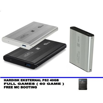 Harga SATA Hardisk Eksternal PS2 40GB - Support All Fat Series Playstation 2 - Best Quality