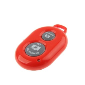 Tomsis Bluetooth Remote Shutter For Smartphone - Merah