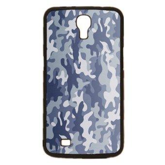 Camouflage Pattern Phone Case for Samsung Galaxy Mega 6.3 I9200 (Black)