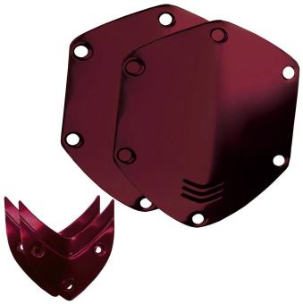 Harga V-MODA Over-Ear Custom Shield Kit - for M-100/LP/LP2 - Crimson Red