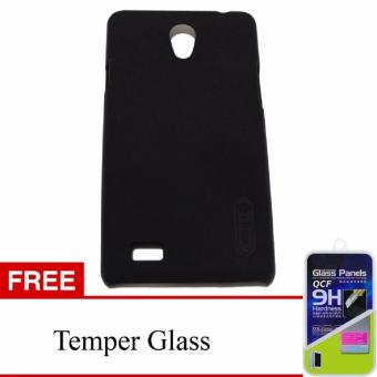 Nillkin Frosted Shield Hardcase For Oppo F1 Black Free Tempered Source · Harga Nillkin Super Frosted