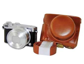 Harga Rajawali Leather Case for Nikon J5 - Cokelat