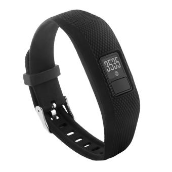 Harga Garmin Vivofit 3 and Vivofit JR Fitness Bands With Secure Watch Clasp , BeneStellar Silicone Replacement Bands Wristband Strap for Garmin Vivofit 3 and Vivofit JR(Not for Garmin Vivofit/Garmin Vivofit 2,No Tracker) - intl
