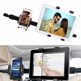 Harga 360 Degree Rotating Car Seat Headrest Mount Holder For 7 ~ 10.2Tablet iPad Air 5 4 - intl